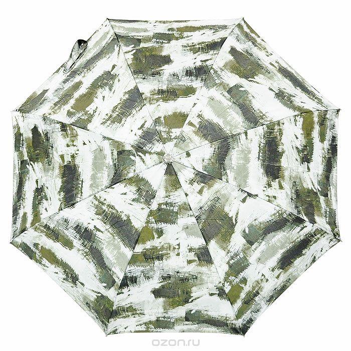 Зонт женский Vogue, автомат, 3 сложения, цвет: зеленый. 472 V472 V зелёныйСтильный автоматический зонт Vouge в 3 сложения даже в ненастную погоду позволит вам оставаться стильной и элегантной. Рукоятка разработана с учетом требований эргономики и выполнена из пластика. Каркас зонта состоит из восьми металлических спиц. Зонт имеет полный автоматический механизм сложения: купол открывается и закрывается нажатием кнопки на рукоятке, стержень складывается вручную до характерного щелчка, благодаря чему открыть и закрыть зонт можно одной рукой, что чрезвычайно удобно при входе в транспорт или помещение. Купол зонта выполнен из прочного полиэстера. На рукоятке для удобства есть небольшой шнурок, позволяющий надеть зонт на руку тогда, когда это будет необходимо. Компактные размеры зонта в сложенном виде позволят ему без труда поместиться в сумочке и не доставят никаких проблем во время переноски. К зонту прилагается чехол.