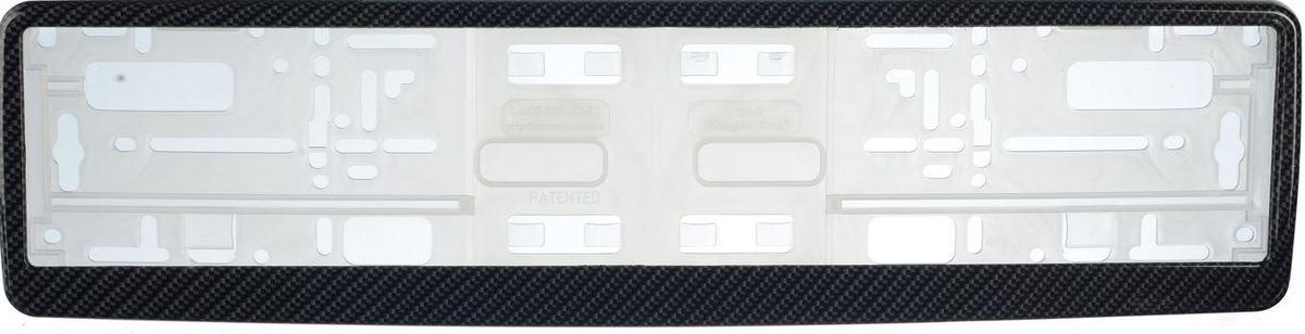 Рамка под номер КарбонЗ0000014100Рамка Карбон не только закрепит регистрационный знак на вашем автомобиле, но и красиво его оформит. Основание рамки выполнено из полипропилена, материал лицевой панели - пластик. Она предназначена для крепления регистрационного знака российского и европейского образца, декорирована орнаментом. Устанавливается на все типы автомобилей. Крепления в комплект не входят. Стильный дизайн идеально впишется в экстерьер вашего автомобиля. Размер рамки: 53,5 см х 13,5 см. Размер регистрационного знака: 52,5 см х 11,5 см.