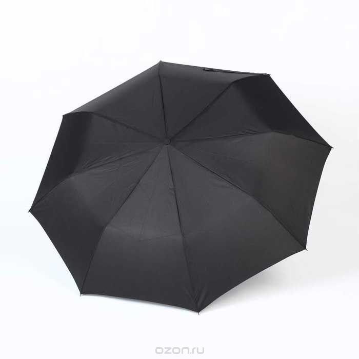Зонт мужской Zest, автомат, 3 сложения, цвет: черный. 13910 зонт мужской  zest   автомат  3
