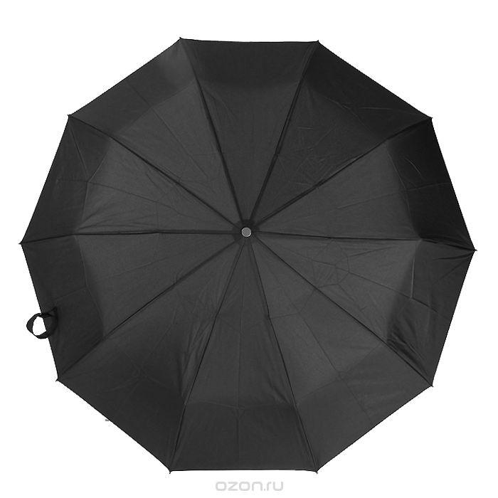 Зонт мужской Zest, автомат, 3 сложения. 1396013960Мужской автоматический зонт Zest в 3 сложения даже в ненастную погоду позволит вам оставаться стильным и элегантным. Каркас зонта состоит из 9 спиц из фибергласса и прочного стального стержня. Специальная система Windproof защищает его от поломок во время сильных порывов ветра. Купол зонта выполнен из прочного полиэстера с водоотталкивающей пропиткой. Используемые высококачественные красители, а также покрытие Teflon обеспечивают длительное сохранение свойств ткани купола. Рукоятка, разработанная с учетом требований эргономики, изготовлена из приятного на ощупь прорезиненного пластика черного цвета. Зонт имеет полный автоматический механизм сложения: купол открывается и закрывается нажатием кнопки на рукоятке, стержень складывается вручную до характерного щелчка, благодаря чему открыть и закрыть зонт можно одной рукой, что чрезвычайно удобно при входе в транспорт или помещение. К зонту прилагается чехол. Такой зонт не только надежно защитит вас от дождя, но и...