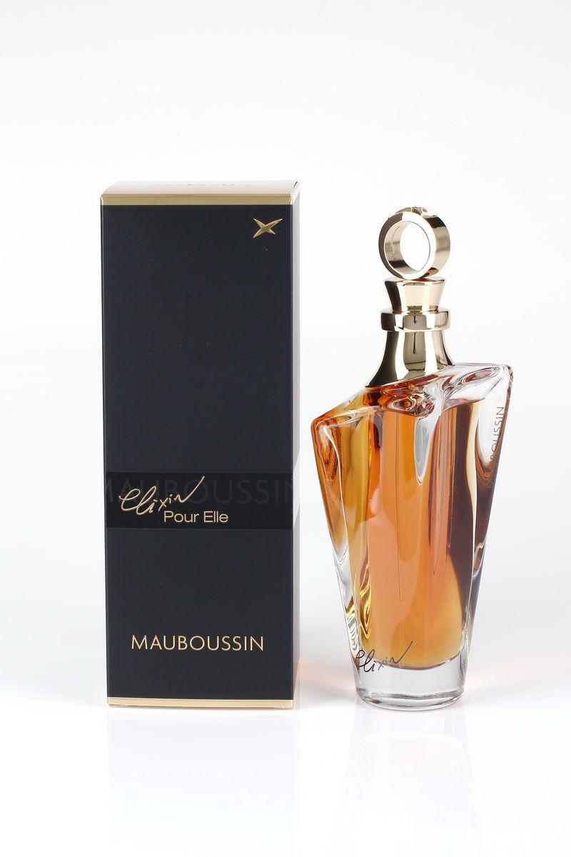 Mauboussin Elixir Pour Elle Туалетные духи женские 100 млMBCAT039Elixir Pour Elle – это квинтэссенция изысканных парфюмерных сочетаний. Этот восточный аромат – магическое зелье, которое способно вдохновлять на любовь и опьянить своим сладострастием. Яркий, выразительный и таинственный аромат создан для женщин, которые всегда хранят в себе загадку. Семейство ароматов: Цветочно-фруктовый Год выпуска: 2014 Начальная нота: Лимон, Грейпфрут, Черная смородина Ноты сердца: Жасмин самбак, Красная роза, Фиалка Базовые ноты: Ваниль, Уд, Сандаловое дерево