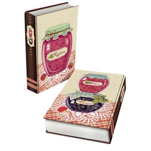 Декоративная шкатулка из МДФ Варенье малиновое арт.35179 (17*11*5 см) арт.3517935179Феникс 35179 - это оригинальная шкатулка, созданная в виде красивой книги. Изделие непременно понравится всем ценителям интересных дизайнерских решений. Данная модель изготовлена из высококачественных и надежных материалов. МДФ
