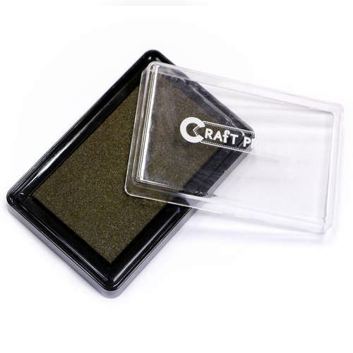 Штемпельная подушечка Коричневый Craft Premier, 1шт.21110-2Штемпельная подушечка Коричневый Craft Premier, 1шт.