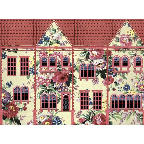 Рисовая бумага для декупажа Craft Premier, A3, 25г/м, Цветочный домикCP08883Плотность бумаги 25 г/м