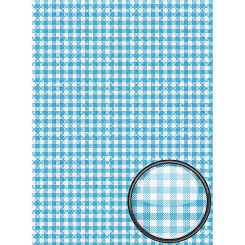 Рисовая бумага для декупажа Craft Premier, A3, 25г/м, Голубая клеткаCP09354Плотность бумаги 25 г/м