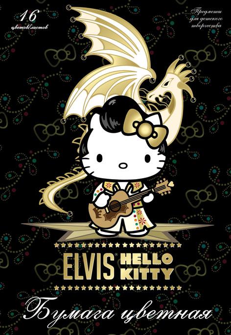 Цветная бумага Hello Kitty, 16 цветов. HK32HK32Цветная бумага Hello Kitty позволит вашему ребенку создавать всевозможные аппликации и поделки. Набор состоит из 16 листов бумаги из которых 2 листа металлизированные. Цвета: серебро, золото, желтый, красный, пурпурный, зеленый, голубой, фиолетовый, коричневый, черный, темно-синий, темно-зеленый, салатовый, бирюзовый, вишневый, оранжевый. Бумага упакована в картонную папку, оформленную рисунком. Создание поделок из цветной бумаги поможет ребенку в развитии творческих способностей, кроме того, это увлекательный досуг. Уважаемые клиенты! Обращаем ваше внимание, что возможны незначительные изменения в дизайне обложки. Поставка осуществляется в зависимости от наличия на складе.