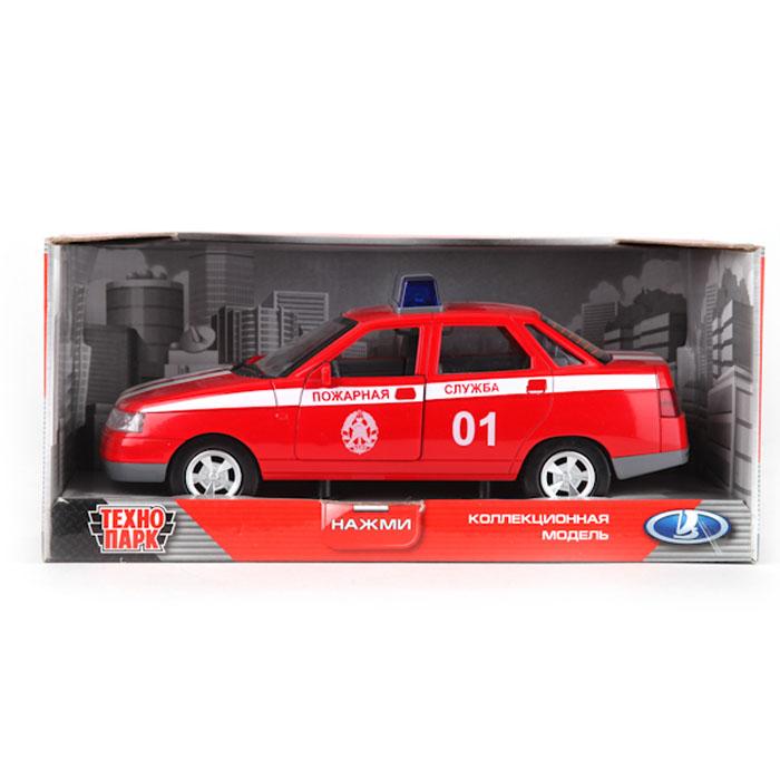 Машинка инерционная ТехноПарк Lada 110: Пожарная службаA553-H11058Инерционная машинка ТехноПарк Lada 110: Пожарная служба, выполненная из пластика, станет любимой игрушкой вашего малыша. Игрушка представляет собой модель автомобиля пожарной службы марки Lada 110. Дверцы кабины, багажного отделения, а также капот открываются. При нажатии на кнопку на крыше модели замигают фары и проблесковые маячки и раздастся звук сирены. Игрушка оснащена инерционным ходом. Машинку необходимо отвести назад, затем отпустить - и она быстро поедет вперед. Прорезиненные колеса обеспечивают надежное сцепление с любой гладкой поверхностью. Ваш ребенок будет часами играть с этой машинкой, придумывая различные истории. Порадуйте его таким замечательным подарком! Машинка работает от батареек (товар комплектуется демонстрационными).
