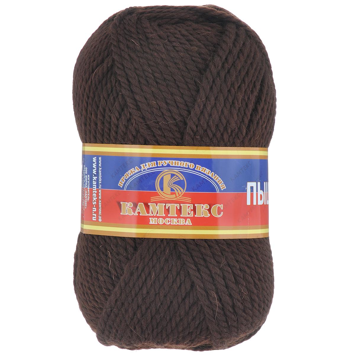 Пряжа для вязания Камтекс Пышка, цвет: шоколадный (063), 110 м, 100 г, 10 шт136080_063Пряжа для вязания Камтекс Пышка изготовлена из 100% импортной шерсти. Пряжа очень толстая и теплая, хорошо подходит для вязания верхней одежды, делает узоры фактурными и выразительными. Готовые изделия имеют богатый внешний вид, красивую структуру трикотажа. Идеальна для вязания пальто, шапок, шарфов, пледов. Рекомендуемые для вязания спицы и крючки 3-5 мм. Состав: 100% импортная шерсть. Комплектация: 10 шт. Толщина нити: 3 мм.