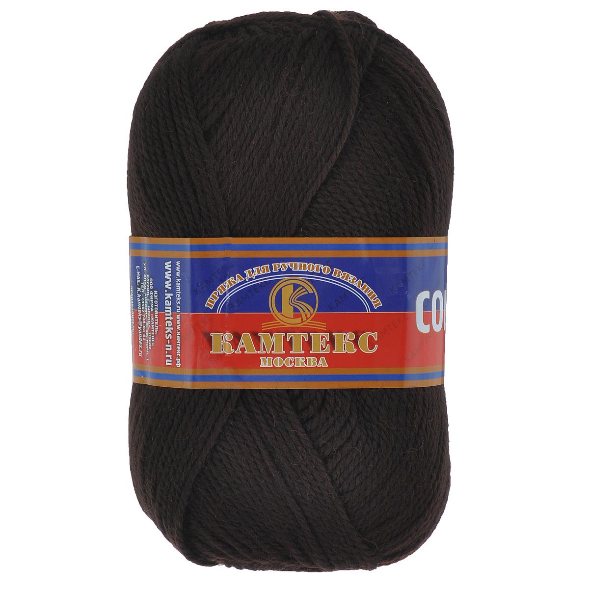 Пряжа для вязания Камтекс Соната, цвет: шоколад (063), 250 м, 100 г, 10 шт136030_063Пряжа для вязания Камтекс Соната изготовлена из 50% шерсти, 50% акрила. Она вяжется легко и свободно, имеет богатую цветовую гамму от теплых пастельных тонов до ярких и смелых оттенков. Ворсистая ниточка ровно складывается в полотно, которое имеет минимальный процент усадки. Из пряжи Соната прекрасно вяжутся теплые туники, жилеты, свитера, платья и многие другие изделия. Рекомендуемые для вязания спицы и крючки 3-5 мм. Состав: 50% шерсть, 50% акрил. Комплектация: 10 шт. Толщина нити: 2 мм.