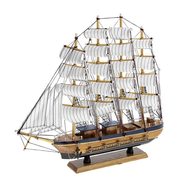 """Корабль сувенирный """"Попутного ветра"""", длина 50 см. 417245"""