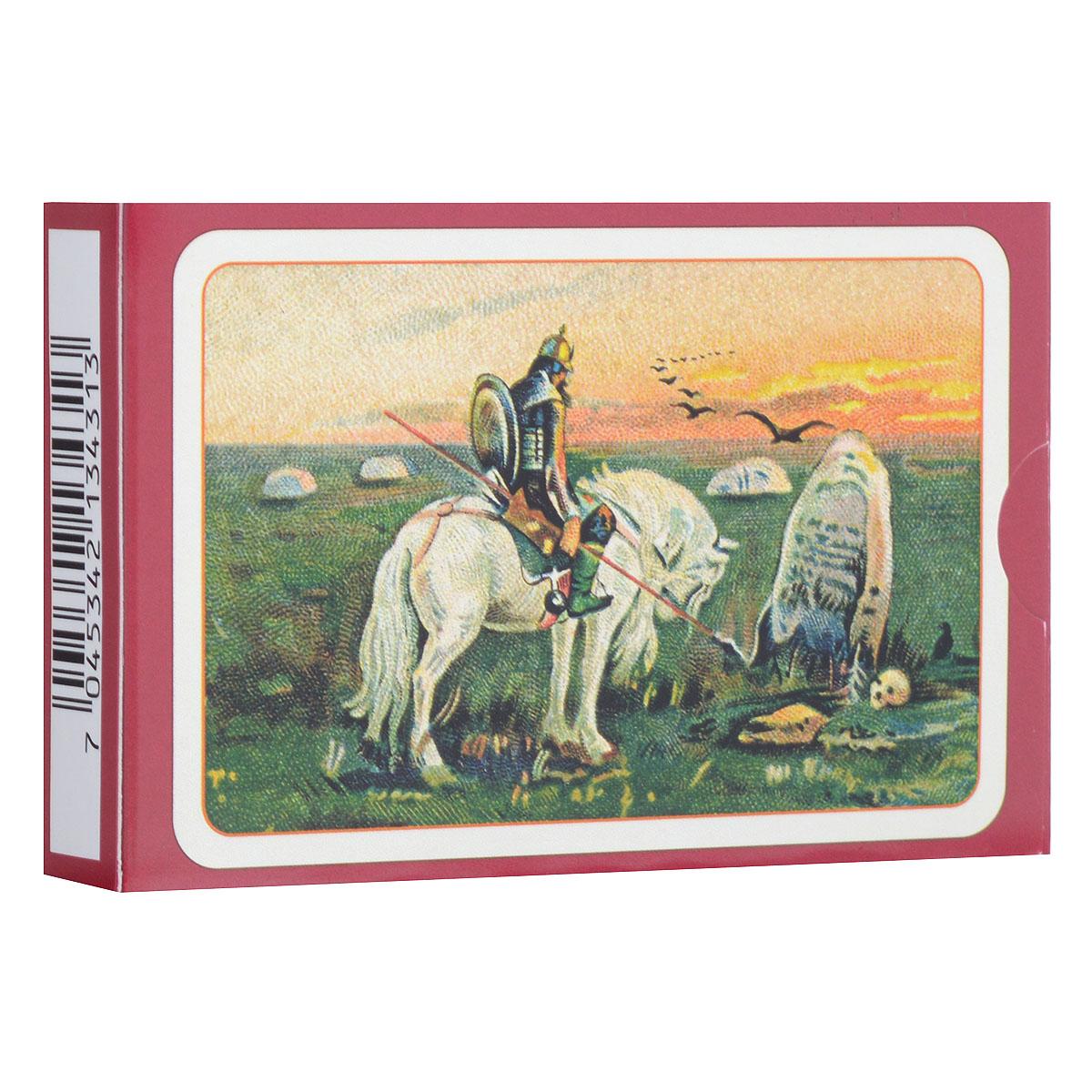 Карты игральные Piatnik Славянские, цвет: красный, 55 карт1343_красный