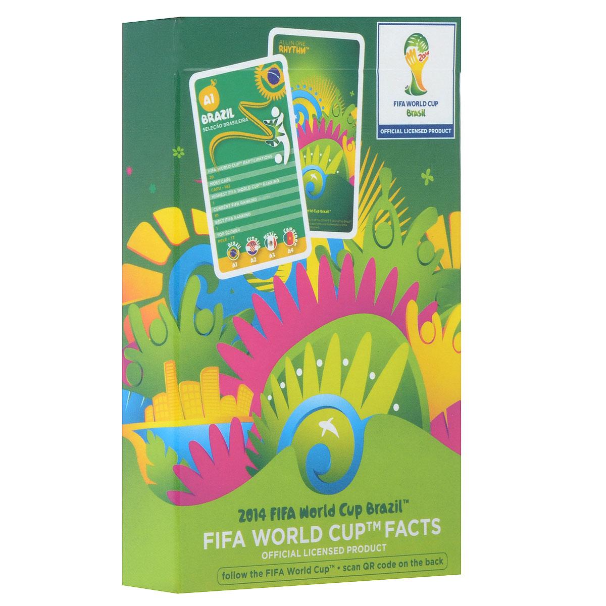 Карточная игра Cartamundi FIFA 2014 World Cup Brazil, 32 карточки100094824