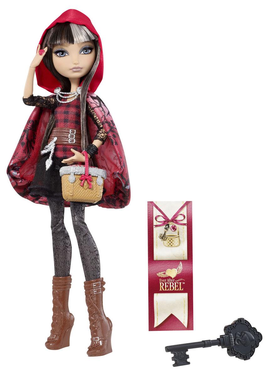 Ever After High Куклы-Отступники Сериз ХудBBD41_BBD44Кукла Ever After High Сериз Худ (Cerise Hood) привлечет внимание вашей маленькой любительницы сказок и волшебства. Она выполнена в виде персонажа мультфильма Ever After High (Школа Долго и счастливо) Сериз Худ - дочери Красной Шапочки. Кукла с длинными темными волосами со светлыми прядями одета в красно-черную тунику с пышной юбкой, серые брюки и плащ-накидку с красным капюшоном. На ее ногах - сапоги на высокой танкетке. В комплект с куклой входит корзинка, расческа в виде ключа и история персонажа. Не упустите возможность переписать историю вместе с учениками школы Ever After - детьми персонажей известных сказок, которым предстоит решить, следовать ли судьбе своих родителей или изменить то, что им предначертано. Отступники - персонажи-мечтатели, верящие, что их судьбы, описанные в сказках, можно изменить!