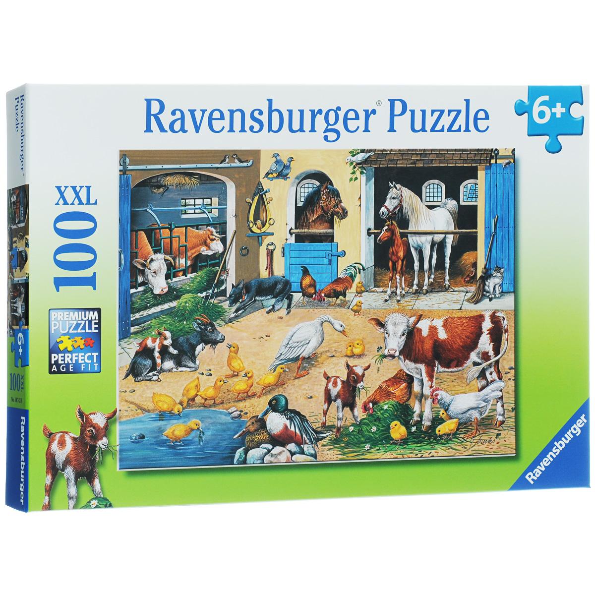 Ravensburger ����� �������� ��������. ���� XXL, 100 ��������� - Ravensburger10743���� Ravensburger ����� �������� �������� ����������� ���������� ������ �������. ������ ���� ����, ���������� � ���� 100 ������� ���������, �� �������� ������������� �������� � ������������ �������� ��������. ���� ���������� �� ������� ����������� ��������. ������ ������ ����� ���� ����� � �������� ������ �� ���� �����. ����� - ������������� ����������� ���� ��� �����. ��������� ����� ��������� � ������� ������ �������� ���, ��������� ����������������, ���������� ��������, �������� � ���������� �����, � ������ � �������������� �������, ���� ����������� � ��������, ������������ � ��������.