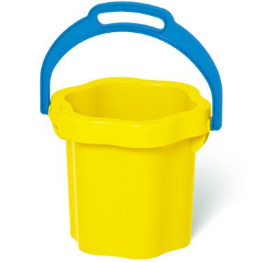 Ведро-цветок Stellar, цвет: желтый, 0,3 л01202Ведро-цветок для песка Stellar привлечет внимание вашего ребенка и станет незаменимым аксессуаром его игры в песочнице. Ведро выполнено из безопасного пластика. С помощью него ребенок сможет переносить песок и воду, лепить замки и многое другое. С ярким ведерком игры на свежем воздухе принесут вашему малышу одно удовольствие! Объем ведра: 0,3 л.
