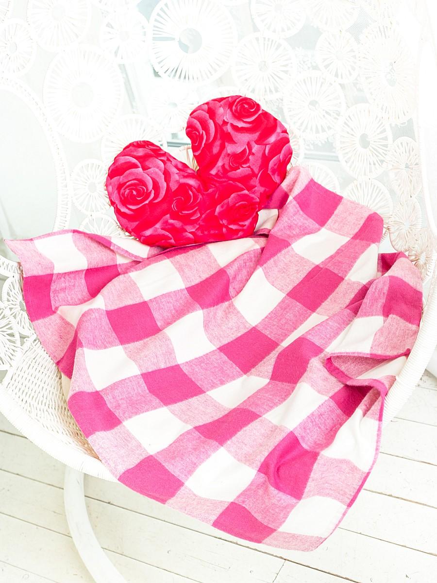 Плед Arloni Ол Гуд, цвет: малина, 110 х 140 см