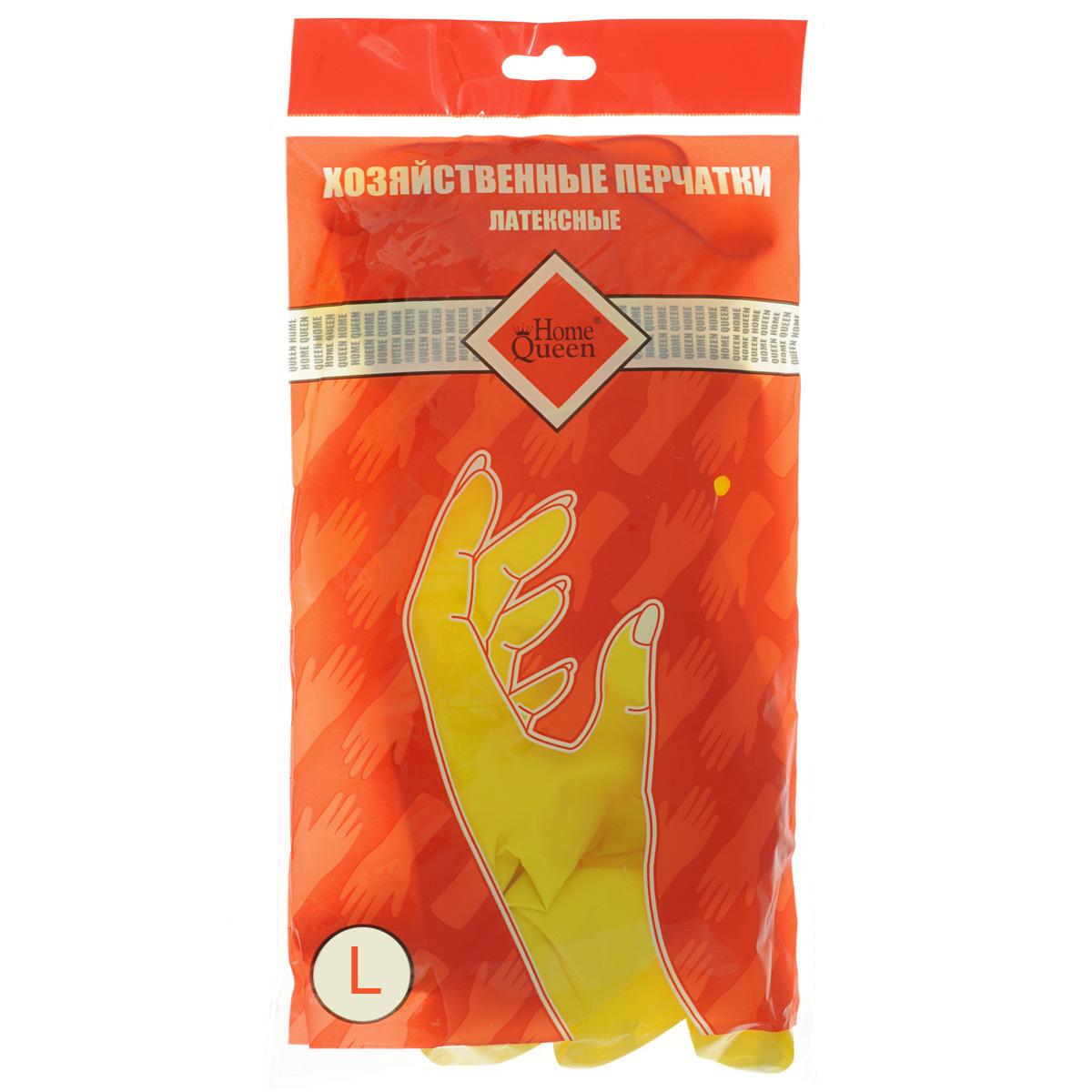 Перчатки латексные Home Queen. Размер L48LПерчатки Home Queen защитят ваши руки от воздействия бытовой химии и грязи. Подойдут для всех видов хозяйственных работ. Выполнены из латекса.