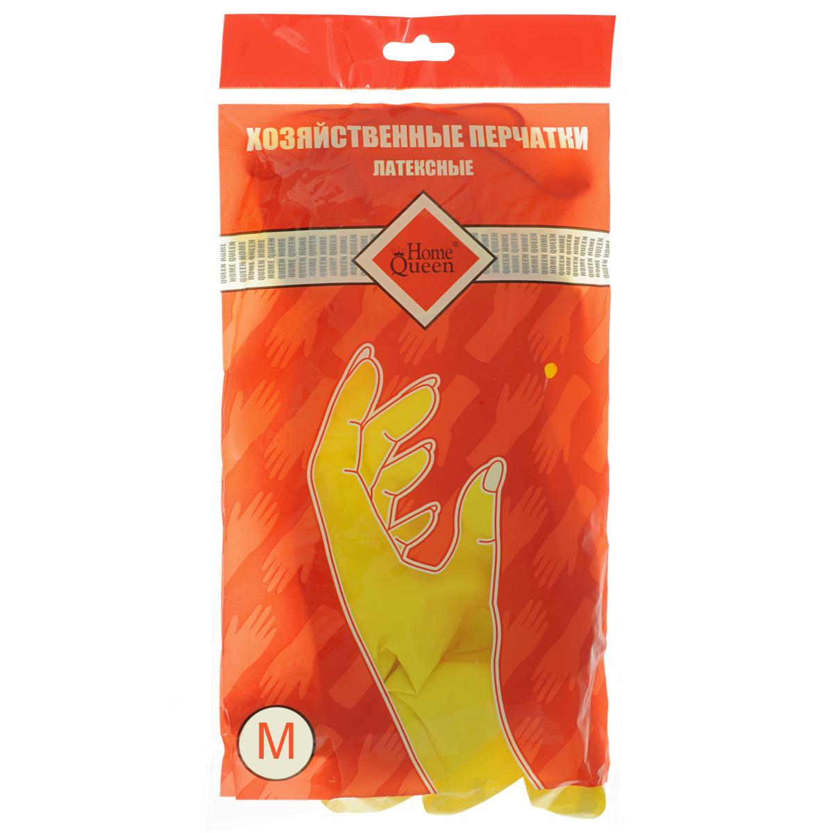 Перчатки латексные Home Queen. Размер M48MПерчатки Home Queen защитят ваши руки от воздействия бытовой химии и грязи. Подойдут для всех видов хозяйственных работ. Выполнены из латекса.