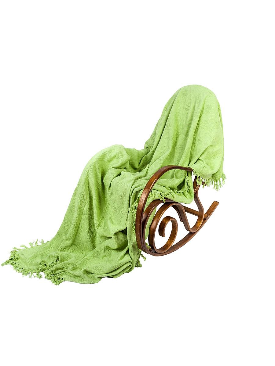 Покрывало Arloni, цвет: зеленый чай, 160 х 220 см2030.4Покрывало Arloni прекрасно оформит интерьер гостиной или спальни. Изготовлено из экологически чистого материала - 100% хлопка, поэтому подходит как для взрослых, так и для детей. Натуральные краски абсолютно гипоаллергенны. Покрывало однотонное, яркой расцветки, по краям декорировано кисточками. Хорошо смотрится и на диване, и на большой кровати. Покрывало Arloni не только подарит тепло, но и гармонично впишется в интерьер вашего дома.