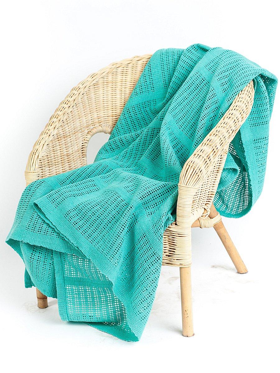 Плед Arloni Джуниор, цвет: зеленый, 110 х 140 см2604.3Плед Arloni Джуниор прекрасно оформит интерьер спальни или детской. Изготовлен из 100% натурального хлопка, поэтому подходит как для взрослых, так и для детей. Натуральные краски абсолютно гипоаллергенны. Плед однотонный, пастельных оттенков. Хорошо смотрится и на диване, и на большой кровати. Изделие выполнено из экологически чистого материала, отличается тонким плетением, легко стирается и сохраняет замечательный внешний вид долгое время. Плед Arloni не только подарит тепло, но и гармонично впишется в интерьер вашего дома.