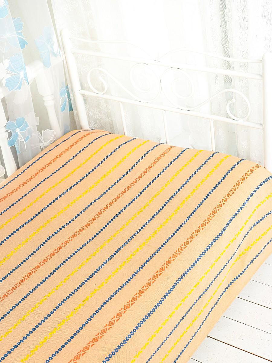Покрывало Arloni Альянс, цвет: коралл, 150 см х 200 см2043.2Покрывало Arloni Альянс прекрасно оформит интерьер спальни или гостиной. Изготовлено из 100% натурального хлопка, поэтому подходит как для взрослых, так и для детей. Натуральные краски абсолютно гипоаллергенны. Покрывало оформлено красивой вышивкой в виде разноцветных полосок с разным рисунком. Хорошо смотрится и на диване, и на большой кровати. Изделие выполнено из экологически чистого материала, отличается высоким качеством, легко стирается и сохраняет замечательный внешний вид долгое время. Покрывало Arloni не только подарит тепло, но и гармонично впишется в интерьер вашего дома.