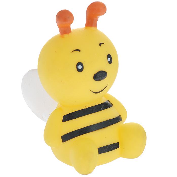 Игрушка для собак Ziver Пчела, цвет: желтый, высота 9 см40.ZV.060Игрушка для собак Ziver Пчела с пищалкой изготовлена из винила с добавлением латекса, с использованием не токсичных красителей. Привлечет внимание вашего любимца, позволит весело провести ему время, не навредит здоровью, а также поможет вам сохранить в целости личные вещи и предметы интерьера. Размер: 9 см х 7 см х 5 см.