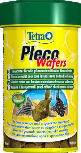 Корм для травоядных донных рыб Tetra Pleco Wafer, пластинки, 42 г198951Корм Tetra Pleco Wafer подходит для любых видов травоядных донных рыб, в том числе сомиков-присосок. Это сбалансированный, богатый питательными веществами корм высшего качества, который гарантирует наилучшее питание для ваших рыб. Имеет в составе водоросли спирулины для повышения сопротивляемости организма. Состав: рыба и побочные рыбные продукты, экстракты растительного белка, зерновые культуры, растительные продукты, водоросли (спирулина максима 3%), дрожжи, моллюски и раки, масла и жиры, минеральные вещества. Аналитические компоненты: сырой белок 44%, сырые масла и жиры 5%, сырая клетчатка 2%, влага 6%. Добавки: витамин А 27960 МЕ/кг, витамин Д3 1740 МЕ/кг, Е5 марганец 63 мг/кг, Е6 цинк 38 мг/кг, Е1 железо 25 мг/кг, Е3 кобальт 0,4 мг/кг, красители, консерванты, антиоксиданты. Вес: 42 г. Товар сертифицирован.