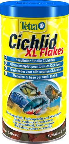 Корм Tetra Cichlid. XL Flakes для всех видов цихлид, крупные хлопья, 1 л (160 г)204294Корм Tetra Cichlid. XL Flakes - это биологически сбалансированный корм в виде крупных хлопьев, предназначенный для всех видов цихлид. Формула корма содержит все необходимые белки и специальные аминокислоты. Высокое содержание протеинов и растительных питательных веществ для удовлетворения особых потребностей цихлид, Запатентованная формула BioActive поддерживает здоровую иммунную систему рыб. Рекомендации по кормлению: кормите несколько раз в день маленькими порциями. Состав: рыба и побочные рыбные продукты, зерновые культуры, экстракты растительного белка, дрожжи, моллюски и раки, масла и жиры, сахар, водоросли. Аналитические компоненты:: сырой белок - 48%, сырые масла и жиры - 9%, сырая клетчатка - 2%, влага - 6%. Добавки: витамины, провитамины и химические вещества с аналогичным воздействием, витамин А 15250 МЕ/кг, витамин Д3 955 МЕ/кг. Красители, антиоксиданты. Товар сертифицирован.