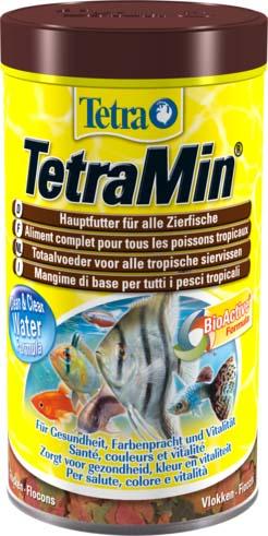 Корм для рыб Tetra TetraMin, хлопья, 100 г204379Корм для рыб Tetra TetraMin - полноценный сбалансированный корм в виде хлопьев для всех видов тропических рыб. Смесь семи видов хлопьев из более, чем 40 видов высококачественного сырья. Запатентованная БиоАктив-формула поддерживает работоспособность иммунной системы, обеспечивая высокую продолжительность жизни. Тщательно подобранная смесь высокопитательных функциональных ингредиентов, витаминов, минералов и микроэлементов для ежедневного полноценного питания рыб. Состав: рыба и побочные рыбные продукты, зерновые культуры, дрожжи, экстракты растительного белка, моллюски и раки, масла и жиры, сахар (олигофруктоза 1%), водоросли, минеральные вещества. Аналитические компоненты: сырой белок 46%, сырые масла и жиры 11%, сырая клетчатка 3%, влага 6%. Добавки: витамин А 37680 МЕ/кг, витамин Д3 1990 МЕ/кг, Е5 марганец 96 мг/кг, Е6 цинк 57 мг/кг, Е1 железо 37 мг/кг, красители, антиоксиданты. Вес: 100 г. Товар сертифицирован.