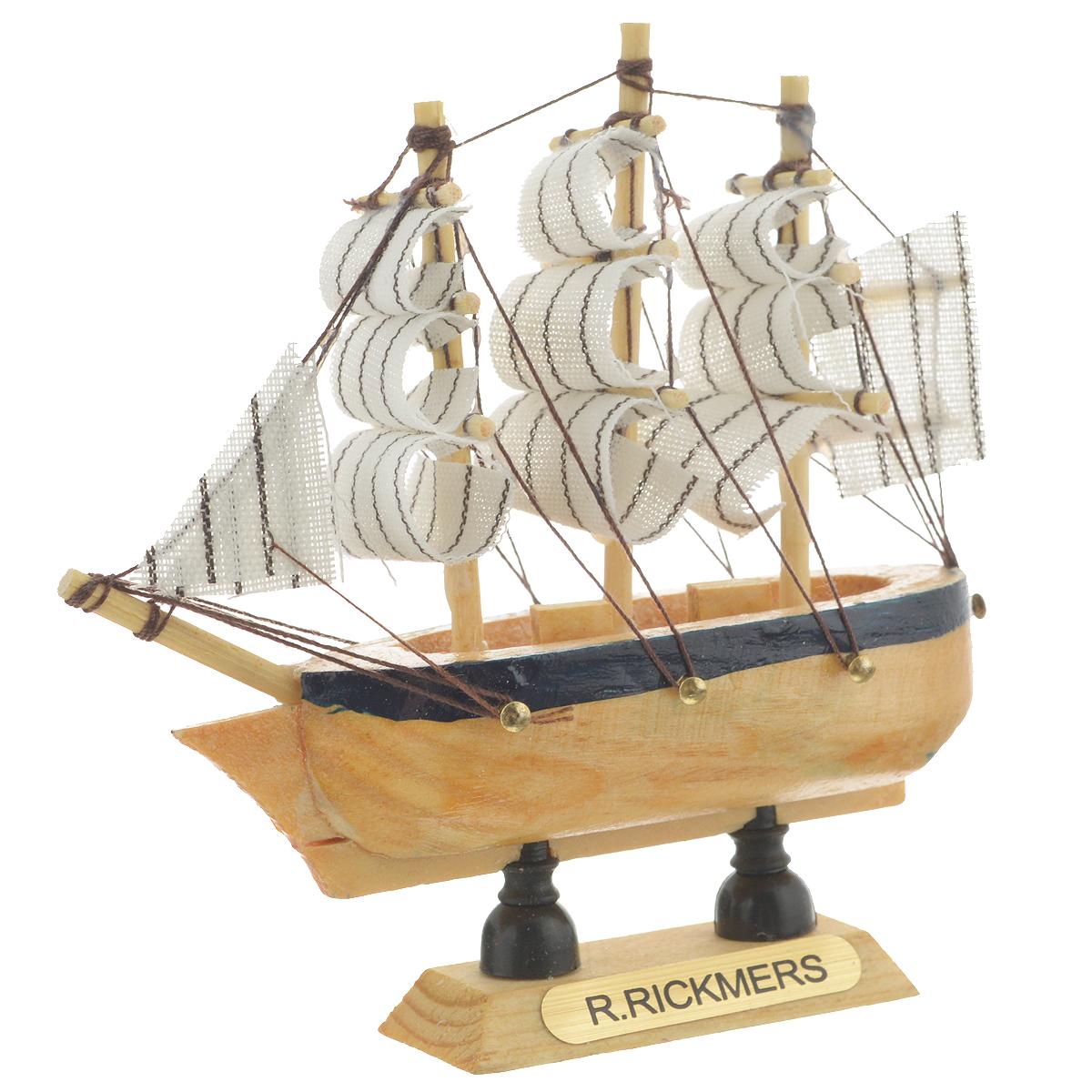 Корабль сувенирный R. Rickmers, длина 10 см. 404816