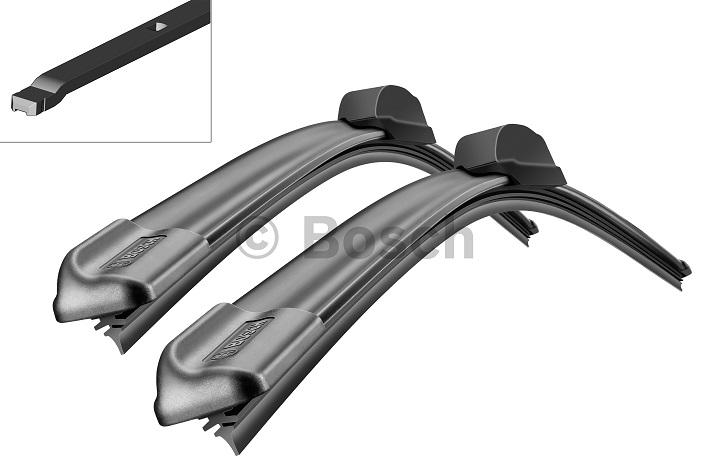 Щетки стеклоочистителя BOSCH Aerotwin A115S, 600 мм / 450 мм, бескаркасная, 2 шт3397007115Renault Тип крепления - 7