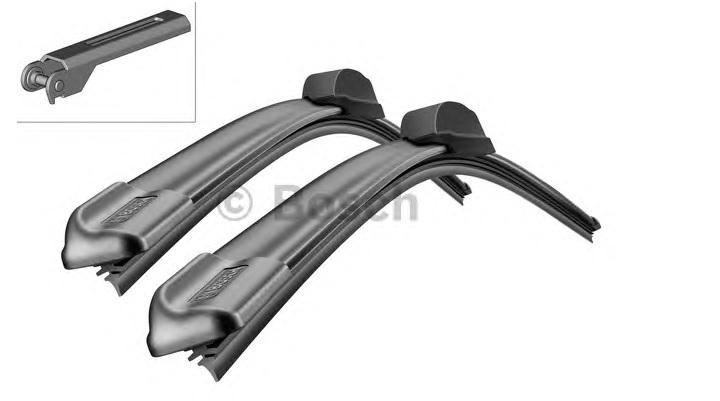Щетки стеклоочистителя Bosch Aerotwin AR566S, 475мм/425мм, бескаркасная, 2шт, (3397118990) - фото 7