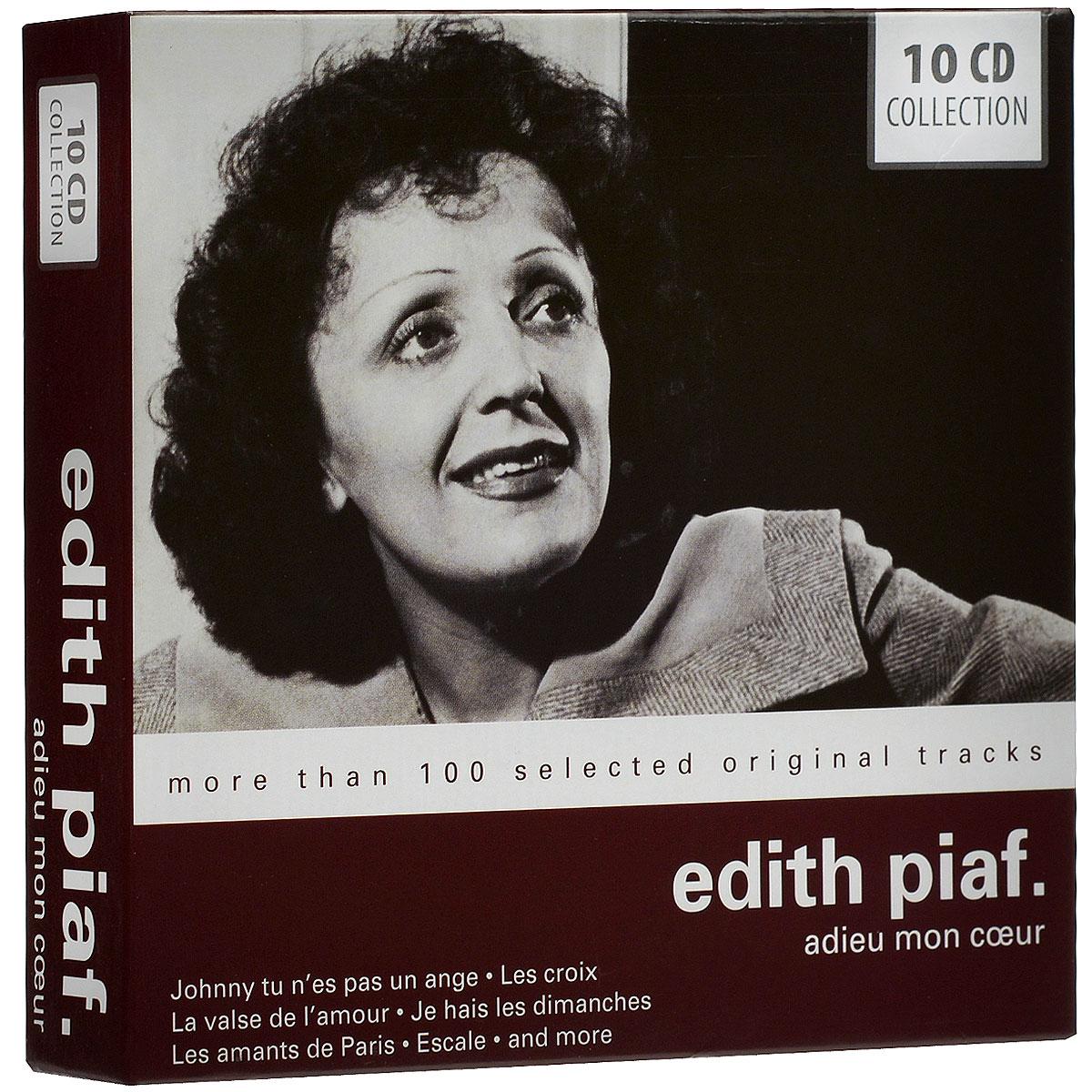 Edith Piaf. Adieu Mon Coeur (10 CD)