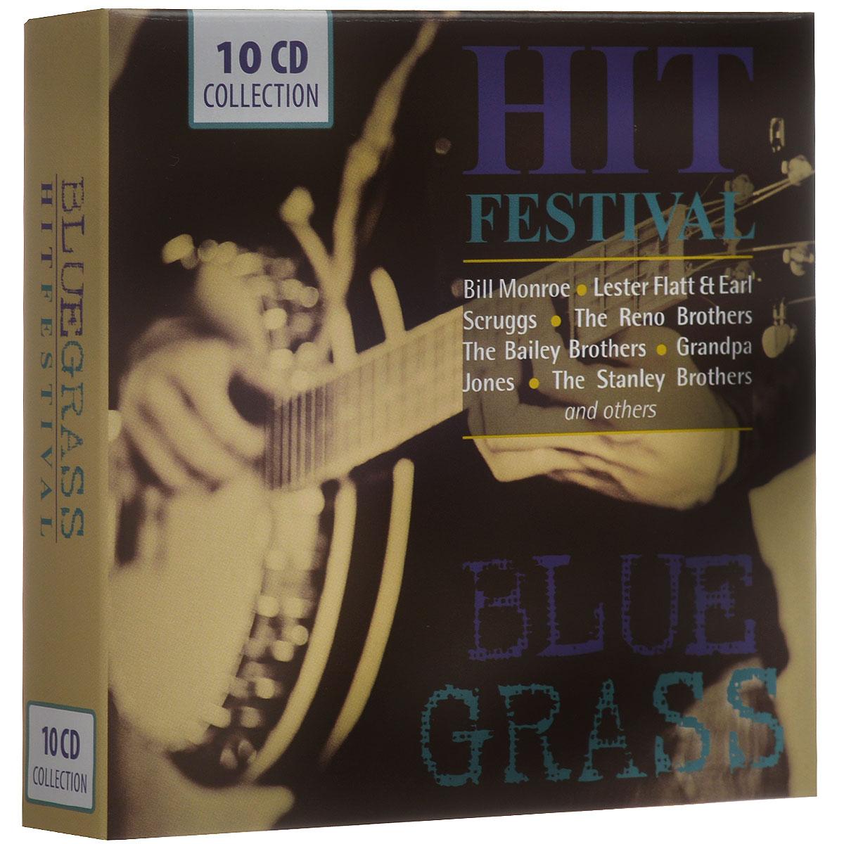 Zakazat.ru: Blue Grass. Hit Festival (10 CD)