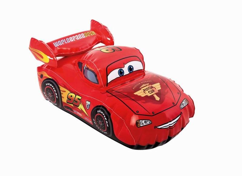 Игрушка надувная Intex Cars, 30 см х 18 см, цвет: красный