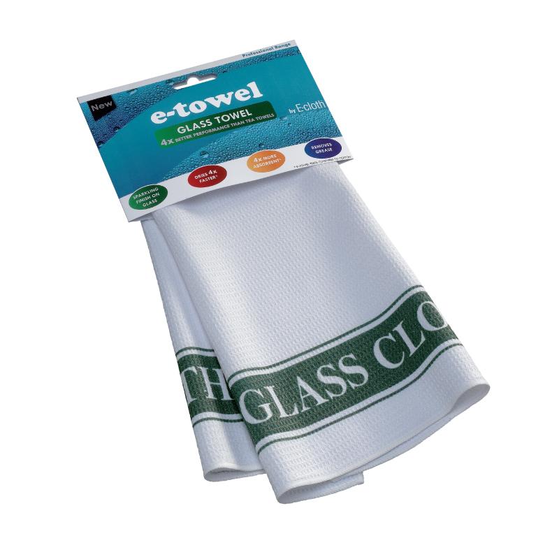 Полотенце барное E-cloth Glass Towel, цвет: белый, зеленый, 60 х 40 см20366Барное полотенце E-cloth Glass Towel, изготовленное из 100% полиэстера, декорировано надписью Glass Towel. Изделие выполнено в современном стиле и предназначено для протирания бокалов, столовых приборов и посуды. Полотенце обладает в 4 раза большей впитывающей способностью, чем обычные полотенца. Оно не оставляют разводов и отпечатков пальцев.