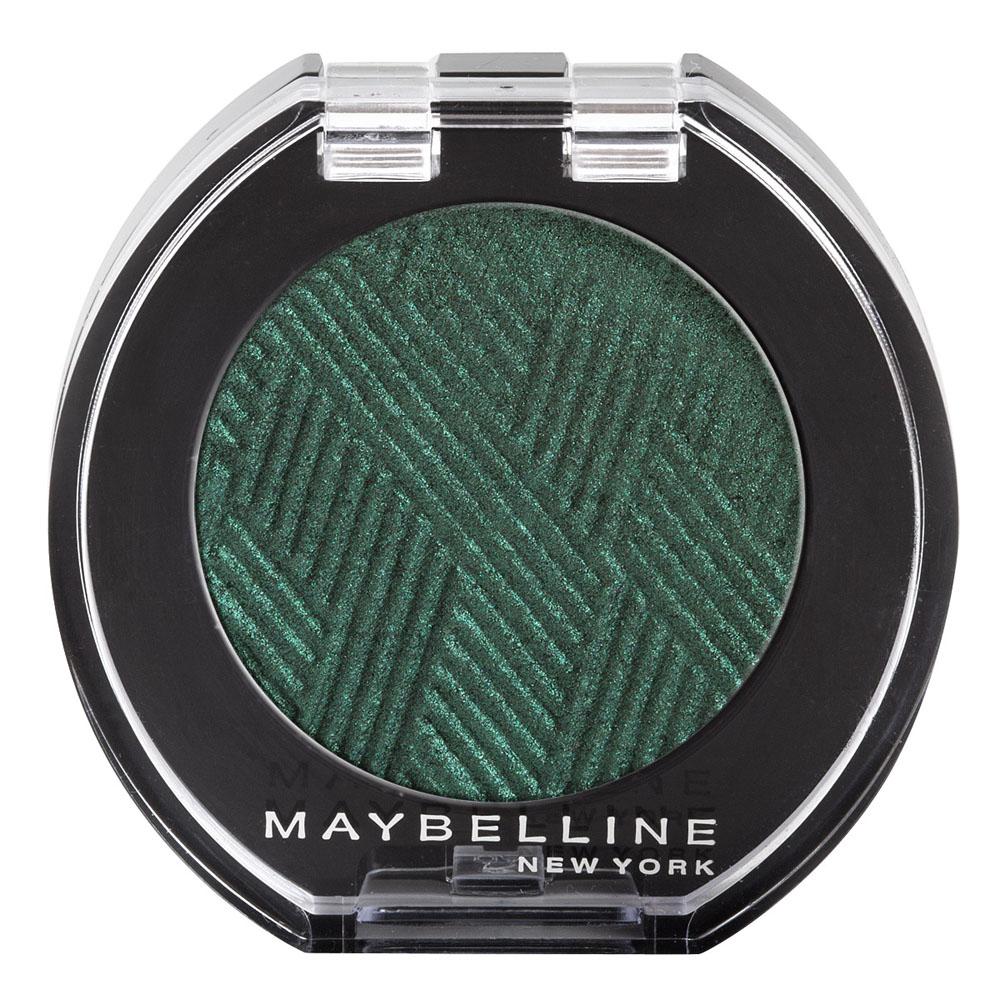 Maybelline New York Моно тени для век Colorama. Сатин, оттенок №20 Beetle Green (Зеленый)B2392300В моно тенях от Maybelline повышенная концентрация цветных компонентов. Благодаря такой высокой концентрации цвета, тени наносятся одним движением и сразу подчеркивают выразительность глаз.