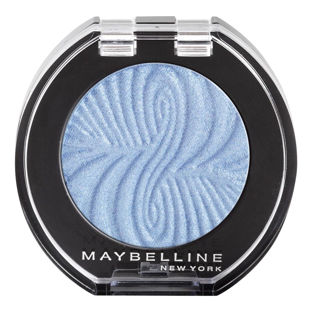 Maybelline New York Моно тени для век Colorama. Сатин, оттенок №16 Baby Blues (Голубой)B2391900В моно тенях от Maybelline повышенная концентрация цветных компонентов. Благодаря такой высокой концентрации цвета, тени наносятся одним движением и сразу подчеркивают выразительность глаз.