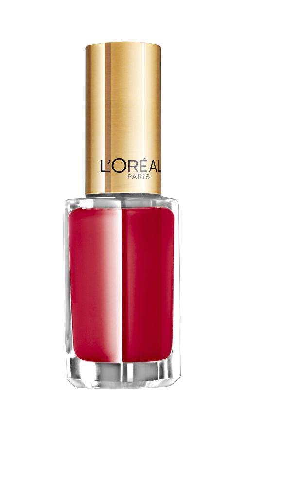 LOreal Paris Лак для ногтей Color Riche, оттенок 401, Алый Пин-Ап, 5 мл