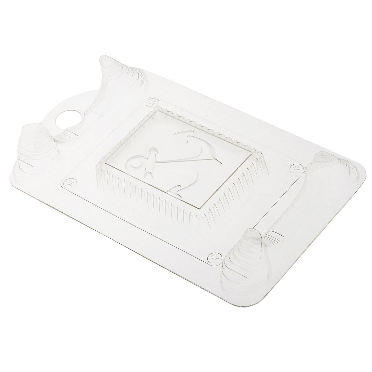 Форма для литья Выдумщики Якорь, 19 х 11,5 х 3 см2700770026009Форма для литья Выдумщики Якорь изготовлена из прозрачного пластика в виде почтовой марки с изображением якоря. Изготовленное в такой форме мыло получит забавный, оригинальный дизайн. При помощи такой прозрачной формы для литья можно самостоятельно изготовить домашнее мыло, а так же оригинальную свечу для украшения праздничного стола и интерьера.