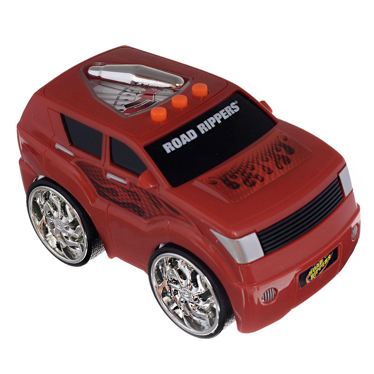 Toystate Машинка цвет красный33240TSЯркая машинка Toystate со звуковыми эффектами, несомненно, понравится вашему ребенку и не позволит ему скучать. Игрушка выполнена в виде яркой гоночной машины. При нажатии на кнопки, расположенные на ней, светится крыша автомобиля, воспроизводятся звуки двигателя, включенной передачи заднего хода и клаксона, а также играет заводная музыка. Стоит откатить игрушку назад, слегка надавив на крышу, затем отпустить - и машинка стремительно поедет вперед. Ваш ребенок часами будет играть с машинкой, придумывая различные истории и устраивая соревнования. Порадуйте его таким замечательным подарком! Рекомендуется докупить 2 батарейки напряжением 1,5V типа AА (товар комплектуется демонстрационными). Уважаемые клиенты! Обращаем ваше внимание на возможные изменения в дизайне, связанные с ассортиментом продукции. Поставка осуществляется в зависимости от наличия на складе.