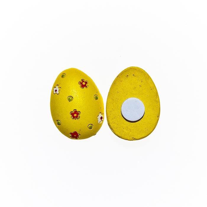 Набор декоративных украшений для яиц Home Queen Лужайка, на клейкой основе, 8 шт64502Набор Home Queen Лужайка состоит из восьми декоративных элементов и предназначен для украшения яиц, посуды, стекла, керамики, металла, цветочных горшков, ваз и других предметов интерьера. Украшения изготовлены из высококачественной полирезины в виде яиц и фиксируются при помощи специальной клейкой основы. Такой набор украшений создаст атмосферу праздника в вашем доме. Размер фигурки: 1,8 см х 0,5 см х 2,6 см.