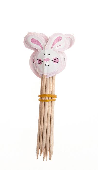 Набор декоративных украшений на ножке Home Queen Кролики, 24 шт66752_1Набор Home Queen Кролики состоит из 24 украшений 2-х видов. Украшения выполнены из высококачественной бумаги на деревянной ножке и предназначены для украшения куличей, кексов, канапе или любой другой выпечки. Такой набор украшений для выпечки создаст атмосферу праздника в вашем доме.