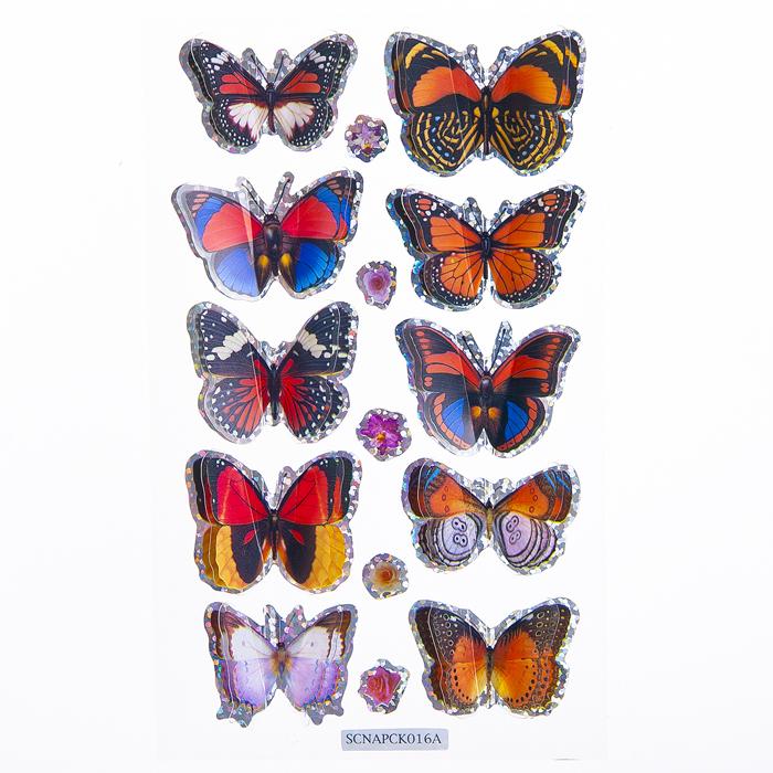 Набор объемных наклеек Home Queen Порхающие бабочки, цвет: красный, синий, 10 шт68230_3Набор объемных наклеек Home Queen Порхающие бабочки прекрасно подойдет для оформления творческих работ. Их можно использовать для скрапбукинга, украшения упаковок, подарков и конвертов, открыток, декорирования коллажей, фотографий, изделий ручной работы и предметов интерьера. Объемные наклейки выполнены из ПВХ. Задняя сторона клейкая. В наборе - 10 объемных наклеек бабочек и 5 небольших наклеек в форме цветов. Такой набор украшений создаст атмосферу праздника в вашем доме. Комплектация: 15 шт. Размер бабочки: 2 см х 3,5 см. Средний размер цветка: 0,7 см х 1 см.