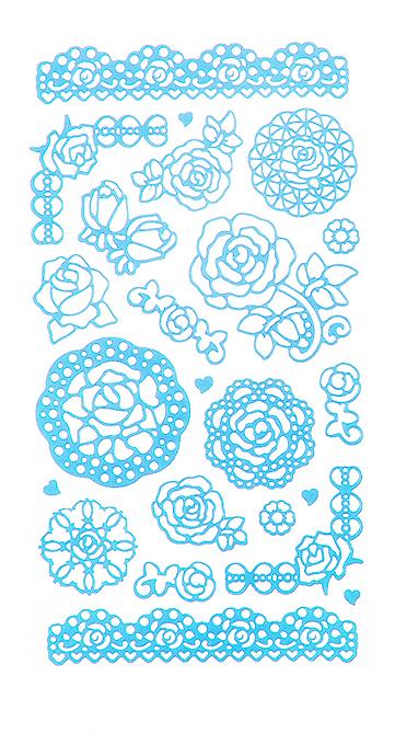 Набор декоративных наклеек Home Queen Цветочное настроение. Розы, цвет: голубой, 23 шт68233_1Набор наклеек Home Queen Цветочное настроение. Розы прекрасно подойдет для оформления творческих работ. Их можно использовать для украшения пасхальных яиц, упаковок, подарков и конвертов, открыток, декорирования коллажей, фотографий, изделий ручной работы и предметов интерьера. Наклейки выполнены из ПВХ. Задняя сторона клейкая. В наборе - 23 наклейки. Такой набор украшений создаст атмосферу праздника в вашем доме. Комплектация: 23 шт. Средний размер наклейки: 4,5 см х 4 см.