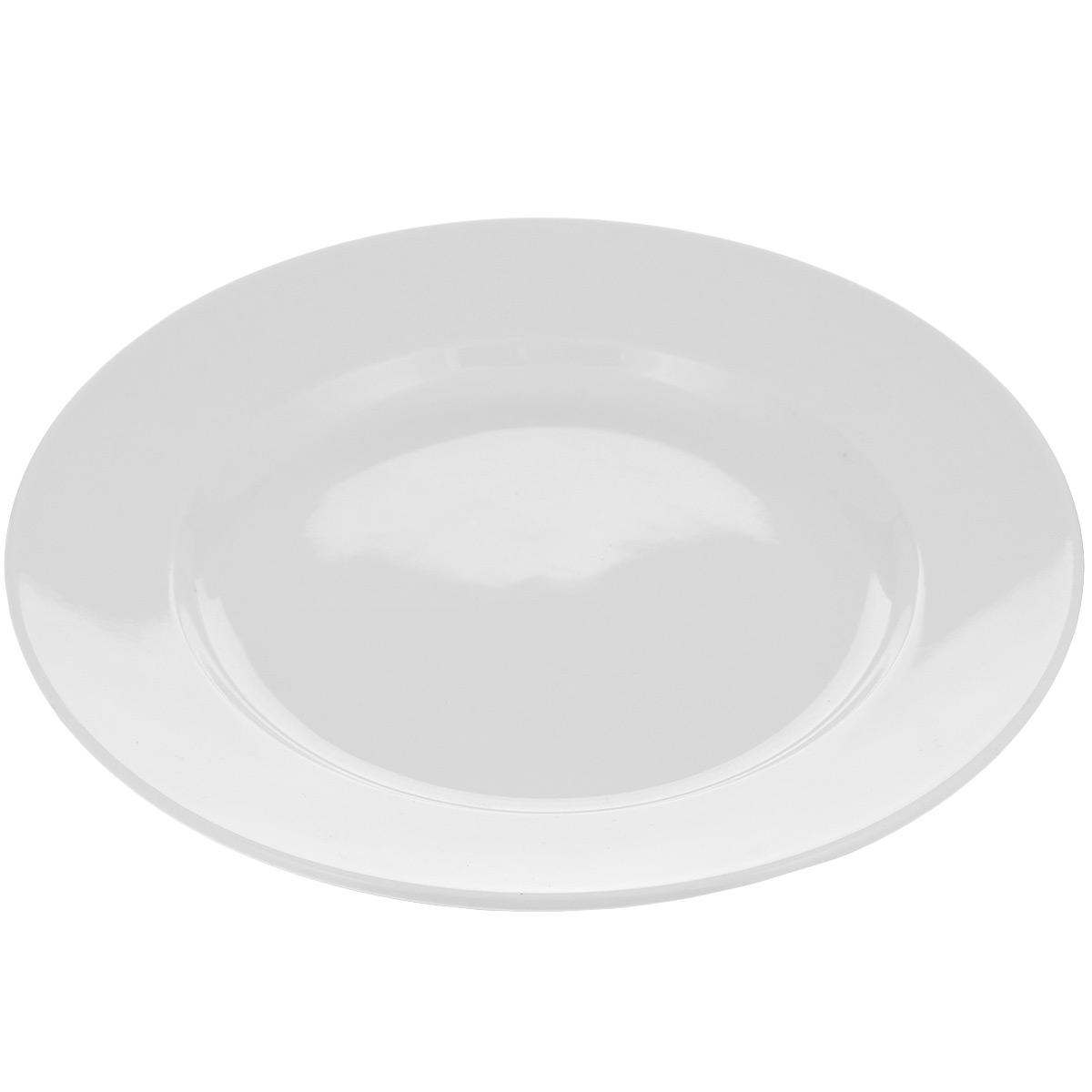 Тарелка десертная Tescoma Opus, диаметр 20 см385110Тарелка Tescoma Opus выполнена из высококачественного фарфора однотонного цвета и прекрасно подойдет для вашей кухни. Такая тарелка изысканно украсит сервировку как обеденного, так и праздничного стола. Предназначена для подачи десертов. Пригодна для использования в микроволновой печи. Можно мыть в посудомоечной машине. Диаметр: 20 см. Высота тарелки: 2,5 см.