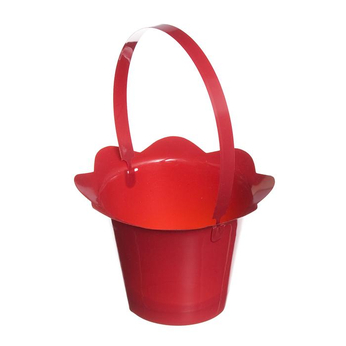 Корзинка Home Queen Пасхальный кулич, цвет: красный, 16 см х 12 см68250_1Корзинка Home Queen Пасхальный кулич предназначена для украшения интерьера и сервировки стола. Изделие выполнено из пластика и оснащено ручкой. Такая оригинальная корзинка станет ярким украшением стола. Идеальный вариант для хранения пасхальных яиц. Высота (с ручкой): 24 см.