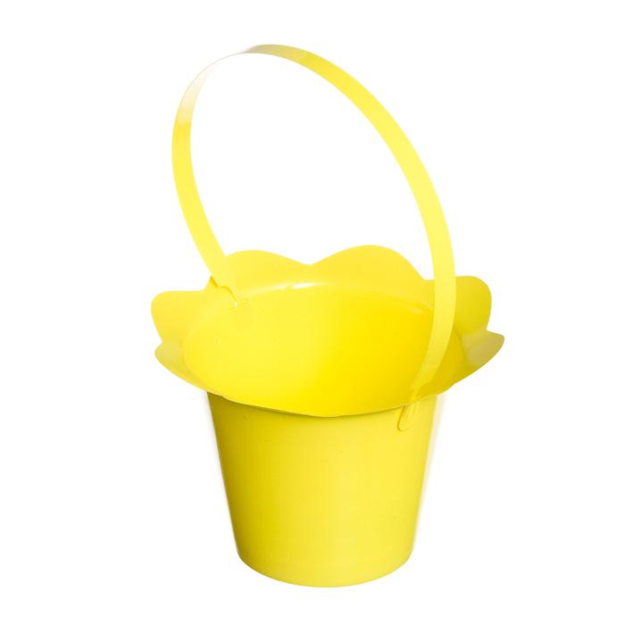 Корзинка Home Queen Пасхальный кулич, цвет: желтый, 16 х 12 см68250_4Корзинка Home Queen Пасхальный кулич предназначена для украшения интерьера и сервировки стола. Изделие выполнено из пластика и оснащено ручкой. Такая оригинальная корзинка станет ярким украшением стола. Идеальный вариант для хранения пасхальных яиц. Высота (с ручкой): 24 см.