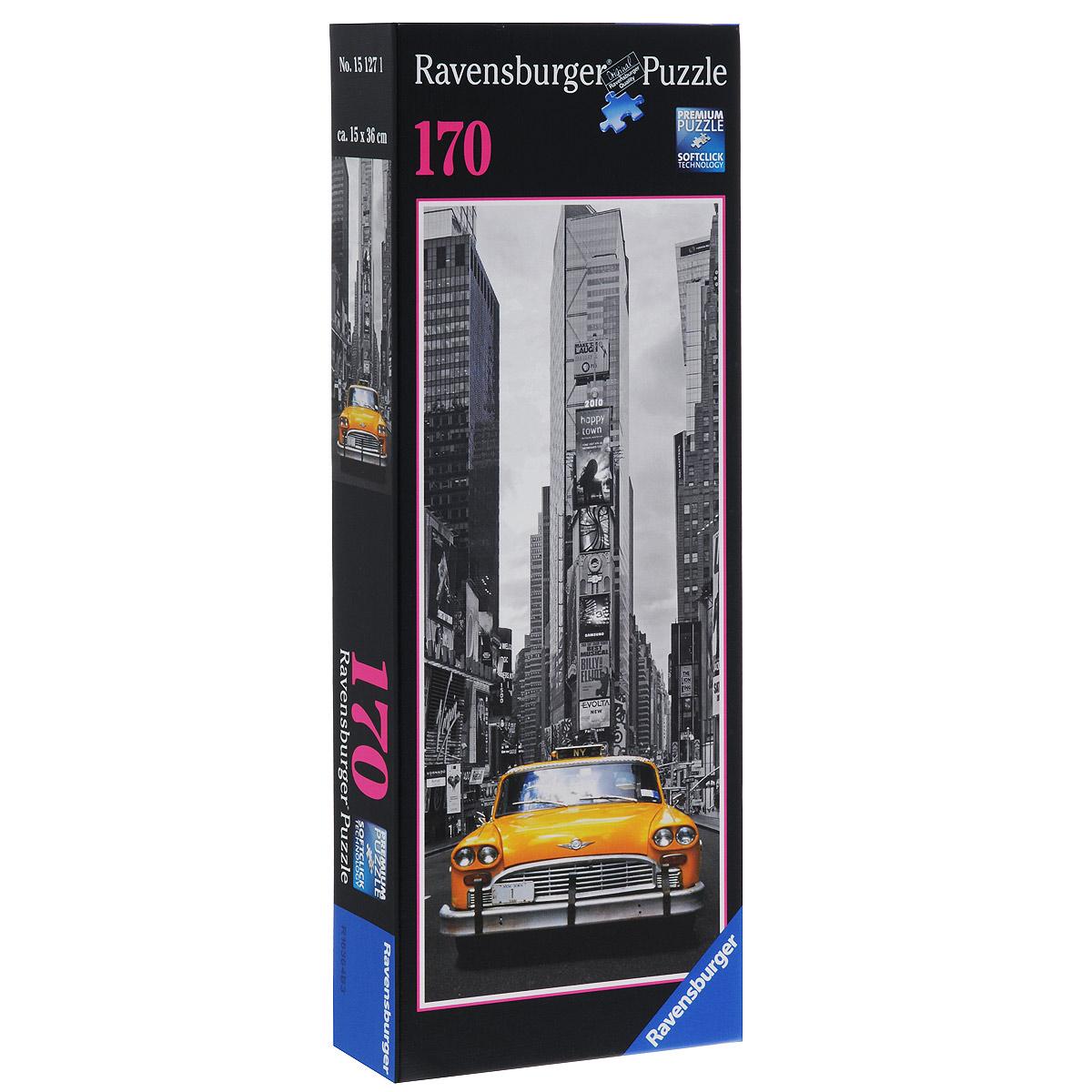 Ravensburger Нью-Йоркское такси. Пазл, 170 элементов