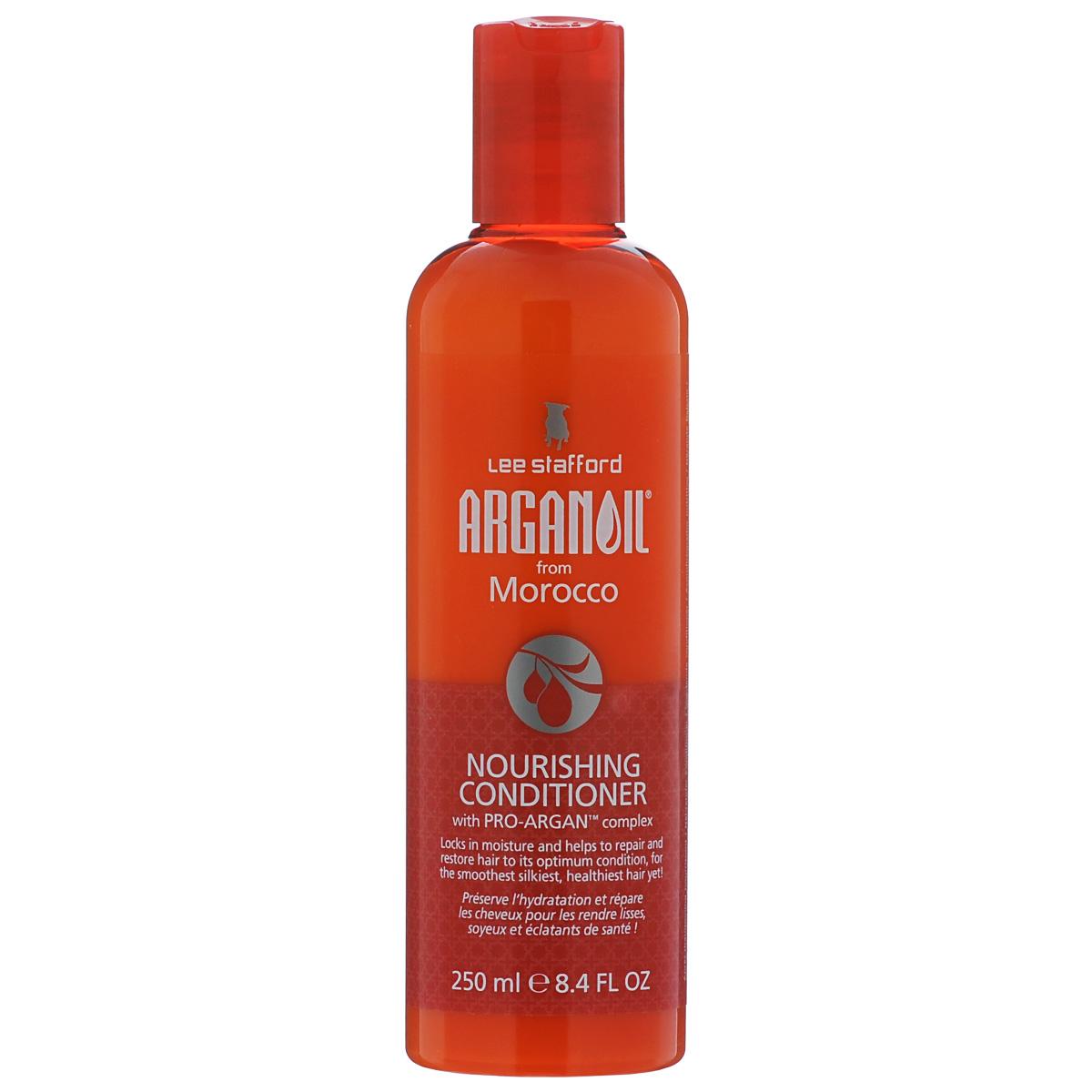 Lee Stafford Питательный кондиционер для волос с аргановым маслом Arganoil From Marocco, 250 мл